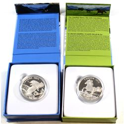 2014 Canada $100 Majestic Bald Eagle & 2015 $100 Canadian Horse Fine Silver $100 for $100 Coins (201