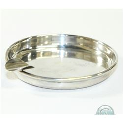 "Birks Sterling Silver Cigar/Cigarette Tray.  Measures Approximately 3"" in diameter. 29.5 grams."
