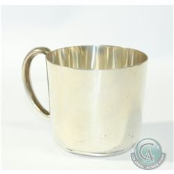 "Antique Webster & Co. Sterling Silver Childs Cup/Christening Mug.  No Monogram.  Measures 2 1/2"" hig"