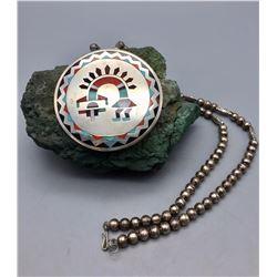 Zuni Inlay Necklace - Natachu