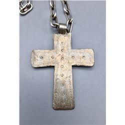 Antique Coptic Cross Necklace