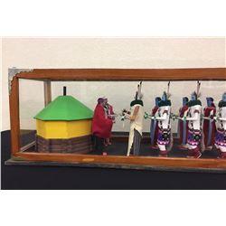 Unique Vintage Navajo Yei Display