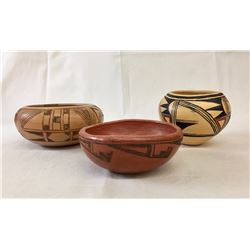 Group of Hopi Pottery