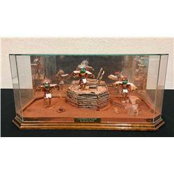Hopi Kachina Display - Lawrance Namoki