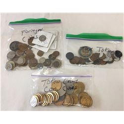 Group of Misc. Coins/Tokens
