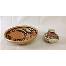 Pair of Hopi Pots
