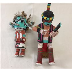 Pair of Nice Hopi Kachinas