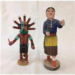 Pair of Navajo Folk Art Dolls