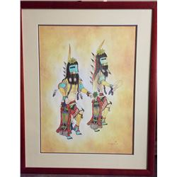 Framed Hopi Painting