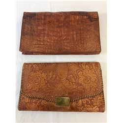 Pair of Leather Western Purses