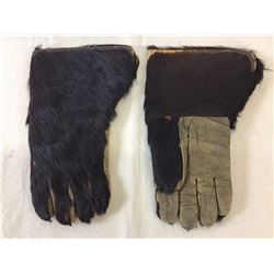 Pair of Hair on Hide Gloves