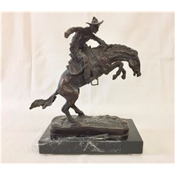 Western - After Remington Bronze