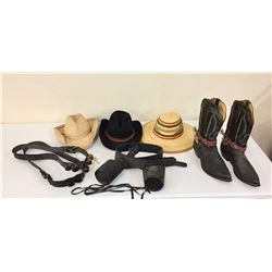 Group Misc. Leather/Cowboy Items