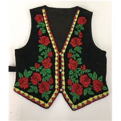 Woodlands Beaded Vest
