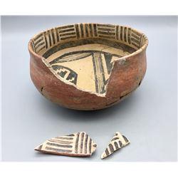 Prehistoric Gila Polychrome Pot