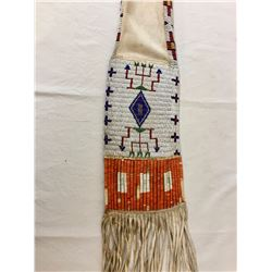 Sioux Beaded and Quilled Tobacco Pipe Bag