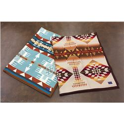 Pair of Like-New Pendleton Blankets