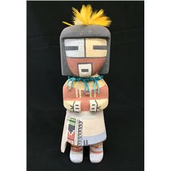 White Chin Hopi Kachina by Poleyestewa