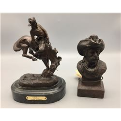 Pair of Bronze Statues