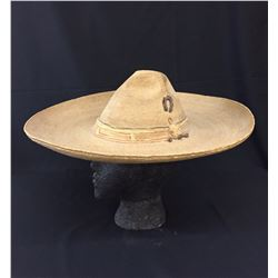 Antique Mexican Sombrero