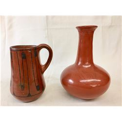 Two Pieces - Old Maricopa Pottery