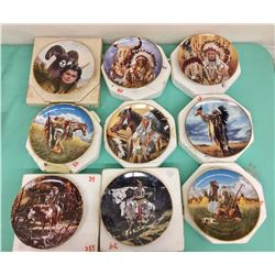 Group of Collectible Plates