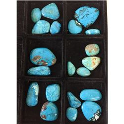 Approx. 500 ct. Misc. Blue Turquoise