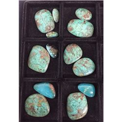 Approx. 500 ct. Misc. Green Turquoise