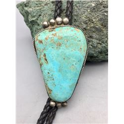 Large, Vintage, Natural Turquoise Bolo