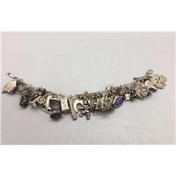 Unique Multiple Charm Bracelet