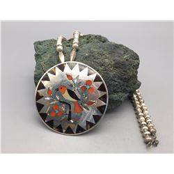 Sammy and Esther Guardian - Inlay Necklace