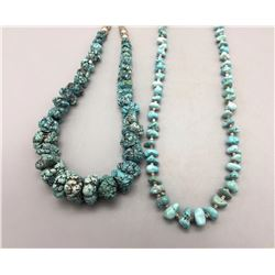 Pair of Turquoise Necklaces