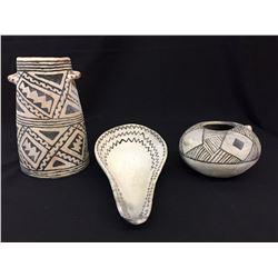 Group of 3 Anasazi Style Pots