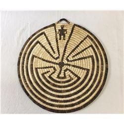 Man-In-The-Maze Basket - Tohono O'odham
