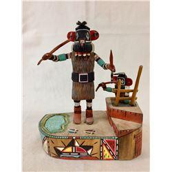 Nice Hopi Kachina - Alton Pashano
