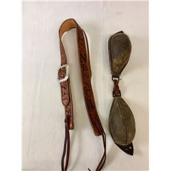 NBSSCA Headstall and Old Bucking Rolls