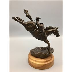 Bucking Horse Bronze by Bob Burkhart
