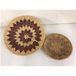 Two Vintage Navajo Baskets