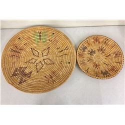 Two Vintage Paiute Baskets