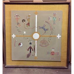 Large Navajo Sand Painting