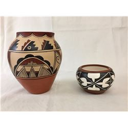 Two Native Pots