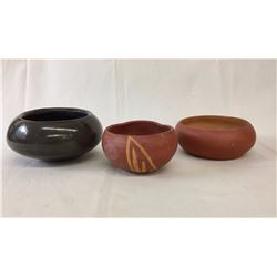 Three Handmade Pots
