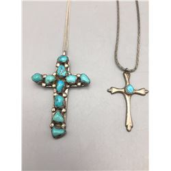 Two Cross Pendants