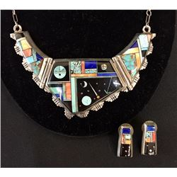 Inlay Necklace Set - Alvin Yellowhorse