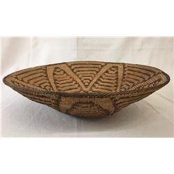 Large Pima Basket - Flower