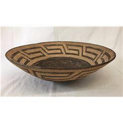 Pima Basket - Black Bottom - Waves