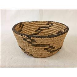 Pima Basketry Bowl -Tracks Design