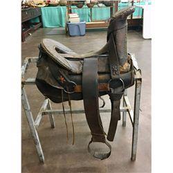 Antique Navajo Tacked Saddle