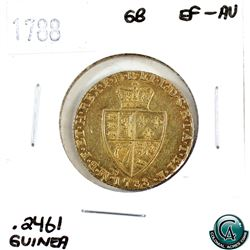 Great Britain 1788 Guinea Gold EF-AU.