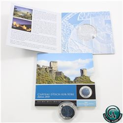 Luxembourg Central Bank of Luxembourg - 2010 Castles of Luxembourg - Chateau D'esch-Sur-Sure 5 Euro